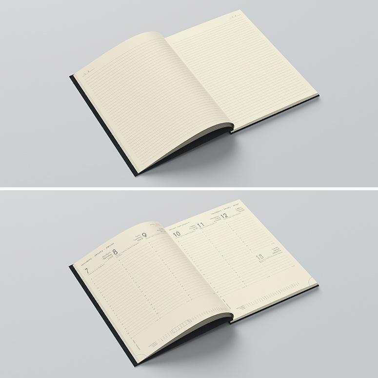 ημερολόγιο ή σημειωματάριο