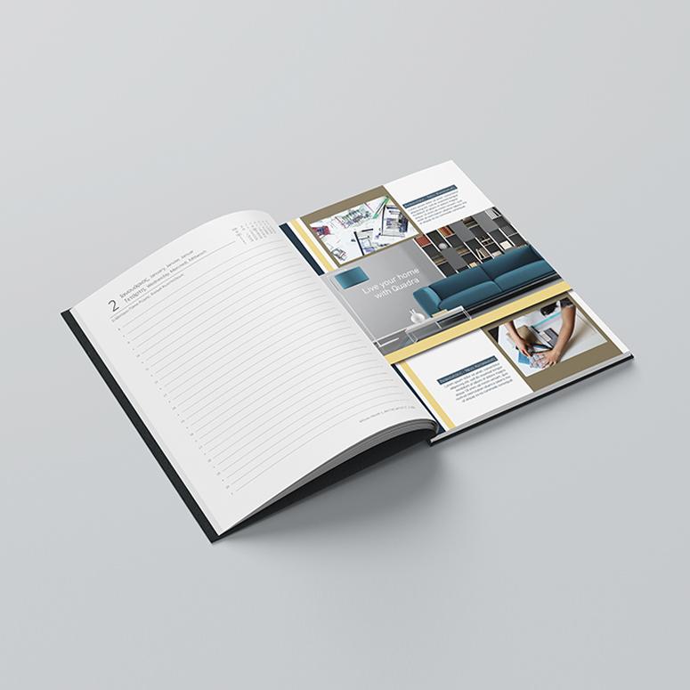 Ένθεση σελίδων στην αρχή, στο τέλος ή ενδιάμεσα της ύλης του ημερολογίου ή σημειωματάριου