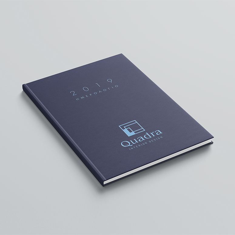 θερμοτυπία εκτύπωση με χρώμα ημερολόγια σημειωματάρια