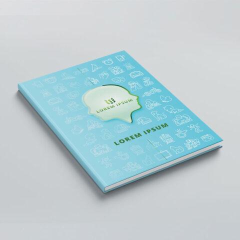 Έγχρωμη εκτύπωση μακέτας με εξειδικευμένο σχεδιασμό, σύμφωνα με τις τεθείσες προδιαγραφές του πελάτη και επιλογή πλαστικοποίησης καλύμματος.