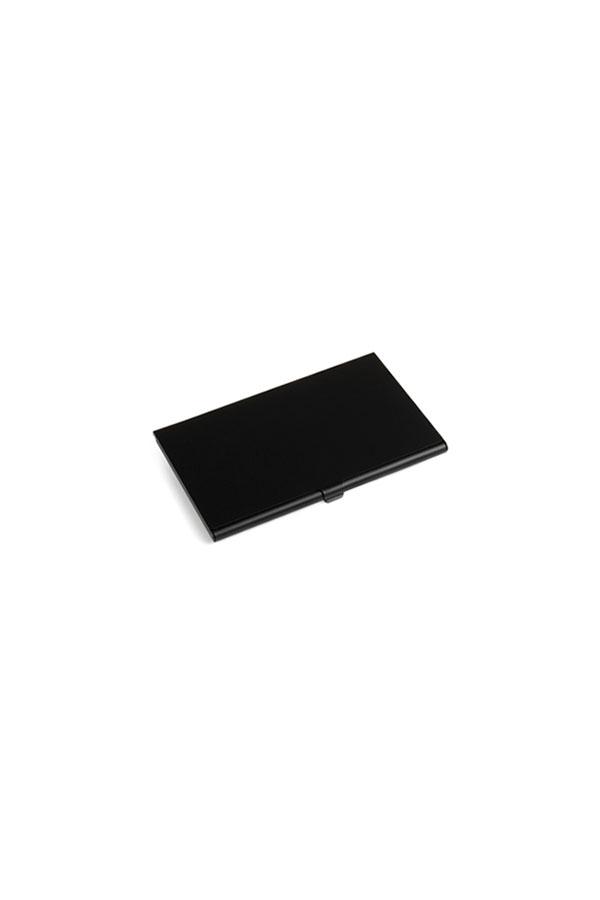 καρτοθήκη απο αλουμίνιο μαύρη