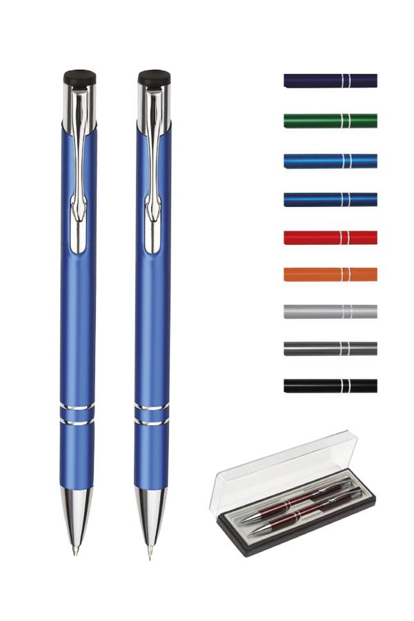 σετ στυλό με ελατήριο και μηχανικό μολύβι cosmo