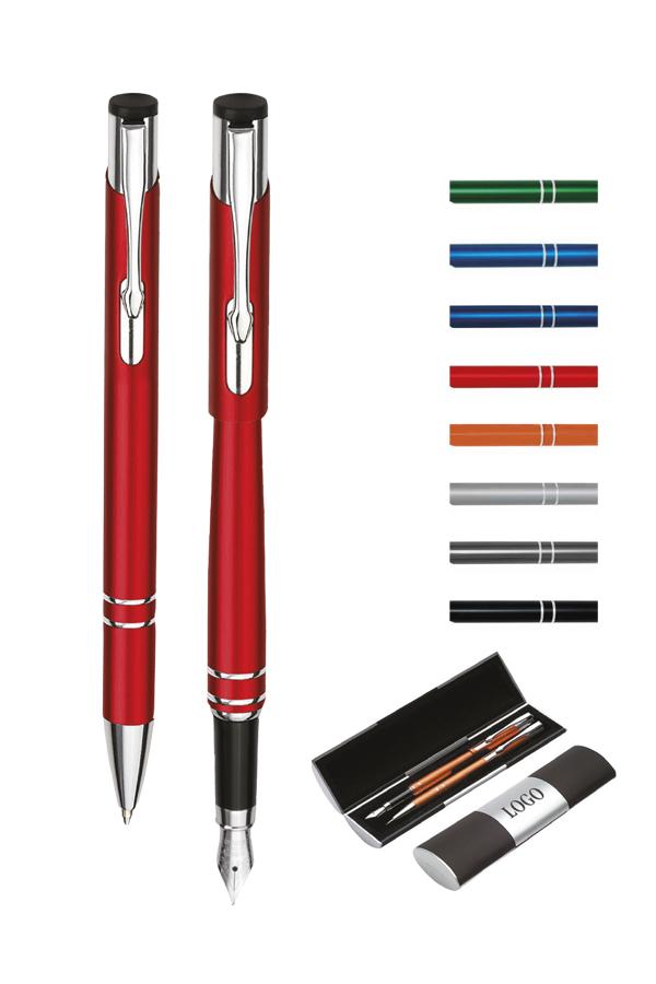 σετ στυλό με πένα cosmo