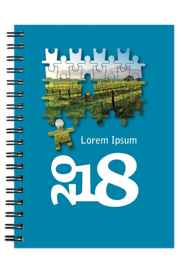 ημερολόγιο illustrated spiral
