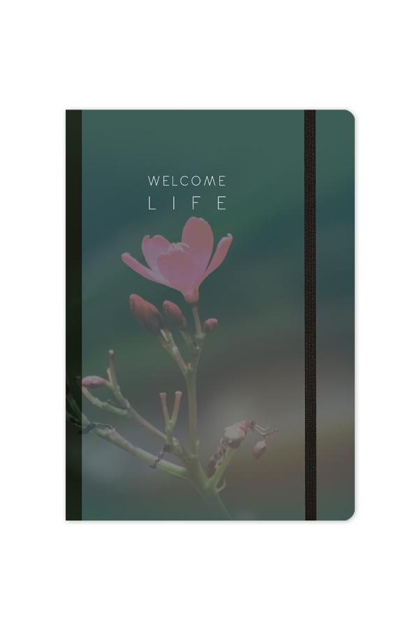 ημερολόγιο με σχέδια στο εξώφυλλο