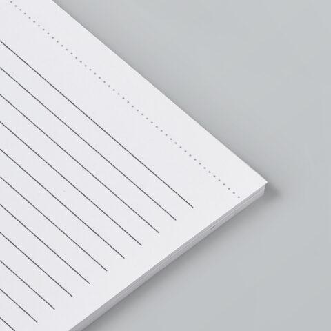 οριζόντιας διάτρηση σελίδων μπλοκ
