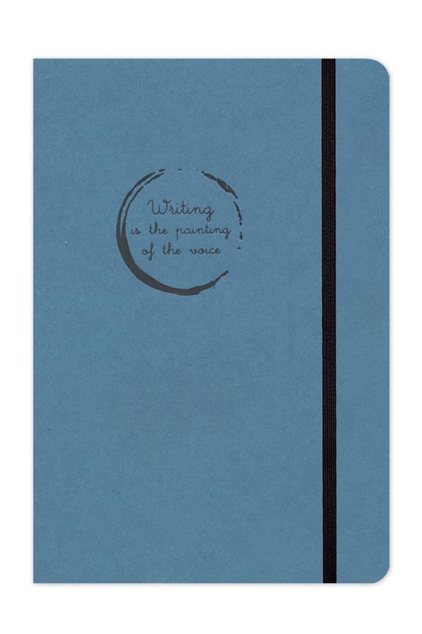 σημειωματάριο με κλωστοραφή