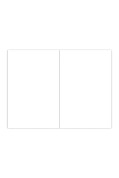 εσωτερικό σημειωματαρίου με κενές σελίδες, χαρτί λευκό