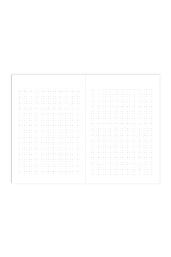 εσωτερικό σημειωματαρίου dotted κατάλληλο για σχεδιασμό