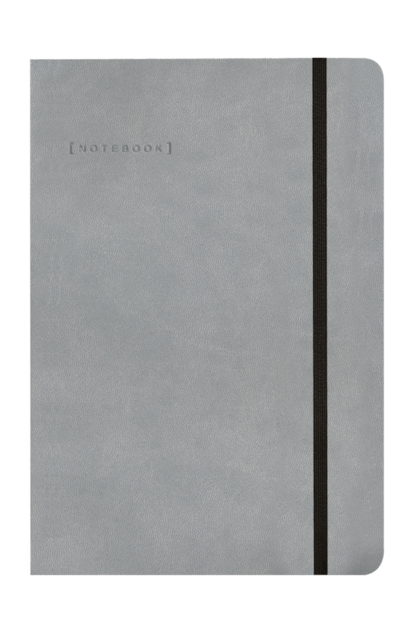 σημειωματάριο εύκαμπτο με δερμάτινη υφή και λαστιχάκι, εύκαμπτη βιβλιοδεσία με στρογγυλεμένες γωνίες, εκτύπωση πυρογραφία