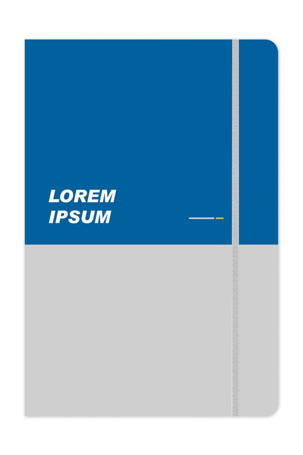 σημειωματάριοεύκαμπτο με έγχρωμη εκτύπωση, εύκαμπτη βιβλιοδεσία, λαστιχάκι, στρογγυλεμένες γωνίες, εκτύπωση offset, matte ή γυαλιστερή πλαστικοποίηση