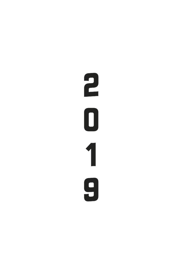 ημερολόγιο 2019 με εκτύπωση λογοτύπου, επιλογή έτους για την εκτύπωση στο εξώφυλλο των ημερολογίων