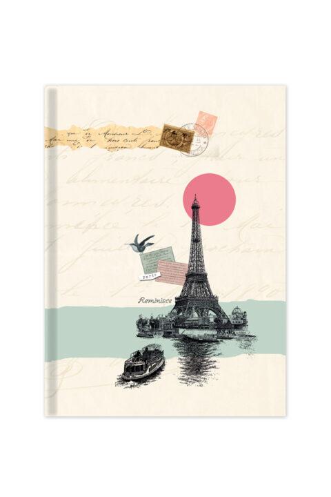 ημερήσιο ημερολόγιο με vintage εξώφυλλο