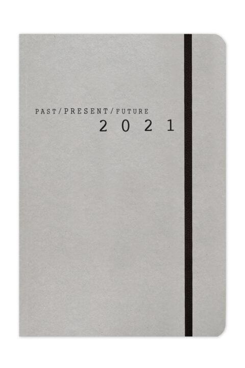 ημερήσιο και εβδομαδιαίο ημερολόγιο με ανακυκλωμένο χειροποιήτο εξώφυλλο