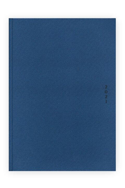 Ημερολόγιο με υφασμάτινη υφή τύπου τζιν.