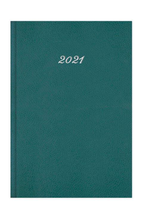 Ημερολόγιο με ανάγλυφη δερμάτινη υφή.